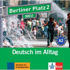 Диск Berliner Platz 2 NEU Audio-CD zum Lehrbuch, Teil 1