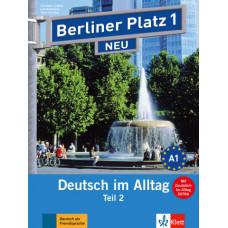"""Учебник Berliner Platz 1 NEU Lehr- und Arbeitsbuch 1, Teil 2 + Audio-CD und """"Im Alltag EXTRA"""""""