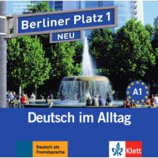 Диск Berliner Platz 1 NEU Audio-CD zum Lehrbuch, Teil 1