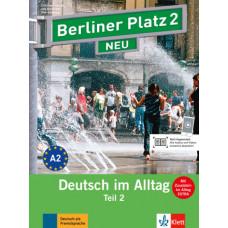 """Учебник Berliner Platz 2 NEU Lehr- und Arbeitsbuch 2, Teil 2 + Audio-CD und """"Im Alltag EXTRA"""""""