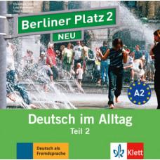 Диск Berliner Platz 2 NEU Audio-CD zum Lehrbuch, Teil 2
