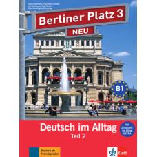 """Учебник Berliner Platz 3 NEU Lehr- und Arbeitsbuch Teil 2 + Audio-CD und """"Im Alltag EXTRA"""""""