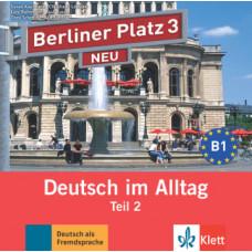 Диск Berliner Platz 3 NEU Audio-CD zum Lehrbuch, Teil 2