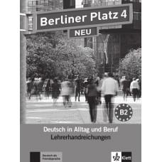 Книга для учителя Berliner Platz 4 NEU Lehrerhandreichungen