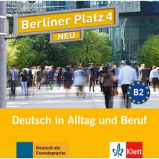 Диск Berliner Platz 4 NEU Audio-CD zum Lehrbuch