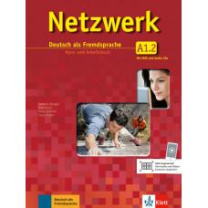 Учебник Netzwerk  A1.2. Kurs- und Übungsbuch mit Audios und Videos
