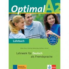 Учебник Optimal A2 Lehrbuch