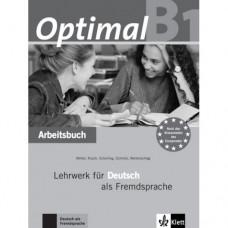 Рабочая тетрадь Optimal B1 Arbeitsbuch+CD
