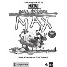 Книга для учителя Der Grüne Max Neu 2 Lehrerhandreichungen