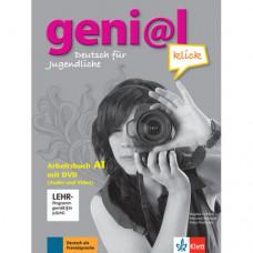 Рабочая тетрадь geni@l klick A1 Arbeitsbuch mit DVD-ROM (Audio und Video)