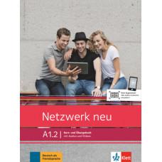 Учебник Netzwerk neu A1.2. Kurs- und Übungsbuch mit Audios und Videos