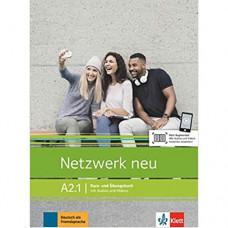Учебник Netzwerk neu A2.1. Kurs- und Übungsbuch mit Audios und Videos
