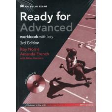 Рабочая тетрадь Ready for Advanced 3rd Edition Workbook + Audio CD