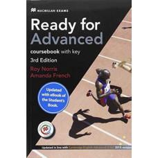 Учебник английского языка Ready for Advanced 3rd Edition Student's Book with Key & MPO + downloadable audio