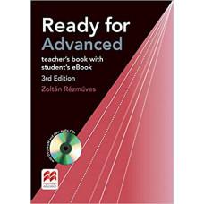 Книга для учителя английского языка Ready for Advanced 3rd Edition Teacher's Book + DVD-ROM