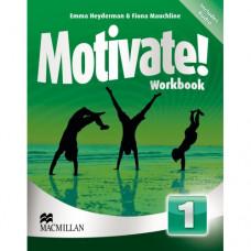 Рабочая тетрадь Motivate! 1 (Beginner) Workbook Pack