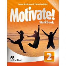 Рабочая тетрадь Motivate! 2 (Elementary) Workbook Pack