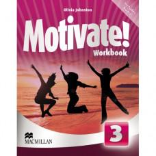 Рабочая тетрадь Motivate! 3 (Elementary) Workbook Pack