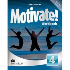 Рабочая тетрадь Motivate! 4 (Intermediate) Workbook Pack
