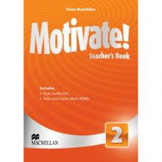 Книга для учителя Motivate! 2 (Elementary) Teacher's Book + Class Audio CDs
