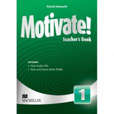 Книга для учителя Motivate! 1 (Beginner) Teacher's Book + Class Audio CDs