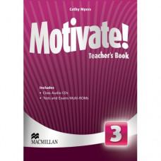 Книга для учителя Motivate! 3 (Elementary) Teacher's Book + Class Audio CDs