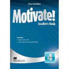 Книга для учителя Motivate! 4 (Intermediate) Teacher's Book + Class Audio CDs