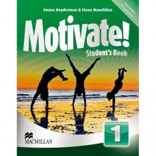 Учебник английского языка Motivate! 1 (Beginner) Student's Book + DVD-ROM