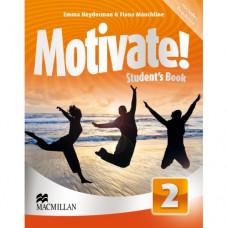 Учебник английского языка Motivate! 2 (Elementary) Student's Book + DVD-ROM