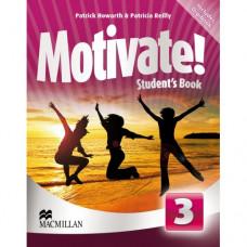 Учебник английского языка Motivate! 3 (Elementary) Student's Book + DVD-ROM