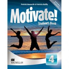 Учебник английского языка Motivate! 4 (Intermediate) Student's Book + DVD-ROM