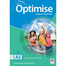 Учебник английского языка Optimise A2 Student's Book Pack