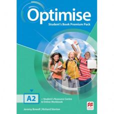 Учебник английского языка Optimise A2 Student's Book Premium Pack