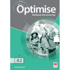 Рабочая тетрадь Optimise A2 Workbook with key