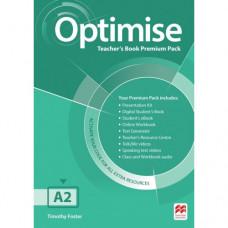 Книга для учителя Optimise A2 Teacher's Book Premium Pack