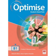 Учебник английского языка Optimise B1 Student's Book Pack