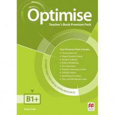 Книга для учителя Optimise B1+ Teacher's Book Premium Pack