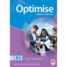 Учебник английского языка Optimise B2 Student's Book Pack