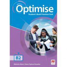 Учебник английского языка Optimise B2 Student's Book Premium Pack