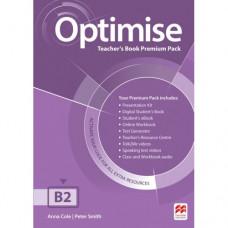 Книга для учителя Optimise B2 Teacher's Book Premium Pack