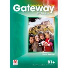 Учебник Gateway B1+ (Second Edition) Student's Book Premium Pack