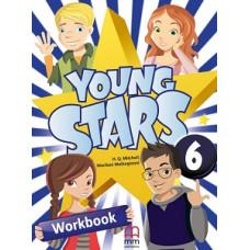 Рабочая тетрадь Young Stars 6 Workbook with CD
