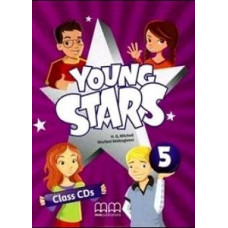 Диски Young Stars 5 Class Audio CD