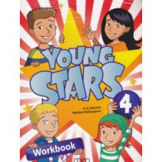 Рабочая тетрадь Young Stars 4 Workbook with CD