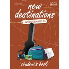 Учебник  New Destinations Intermediate B1 Student's Book