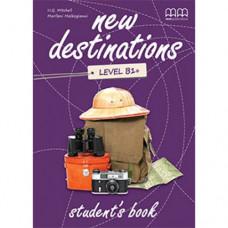 Учебник  New Destinations B1+ Student's Book