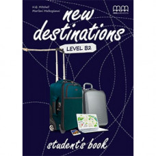 Учебник английского языка New Destinations Level B2 Student's Book with Culture Time for Ukraine