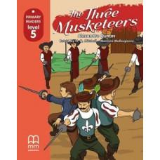 Книга The Three Musketeers with CD/CD-ROM Level 5