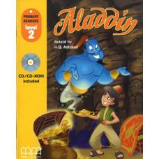 Книга Aladdin  with Audio CD/CD-ROM Level 2