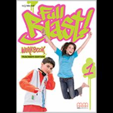 Книга для учителя Full Blast 1 Teacher's Workbook